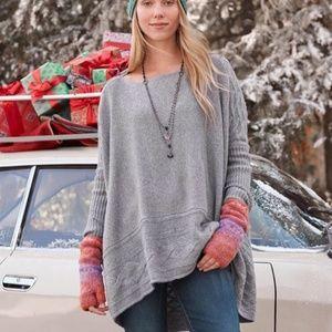 Sundance Gray Oversized 'Harborside Sweater'